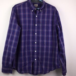 J Crew Button Down Shirt Size Large